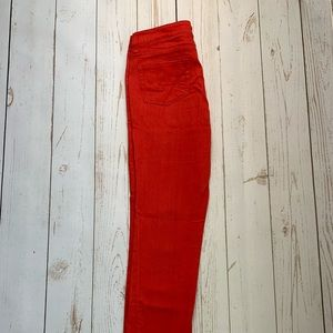 Kenneth Cole - Red Skinny/Straight leg Jeans